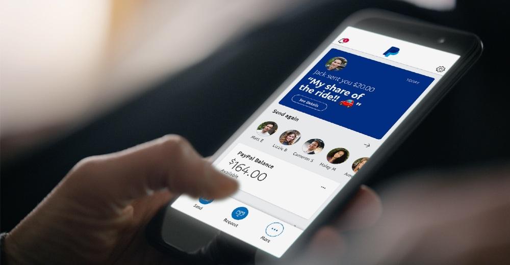 medios de pago paypal app