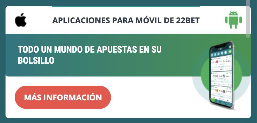 app 22bet peru